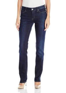 Calvin Klein Jeans Women's Straight Leg Jean Leg Dark Used 26x32