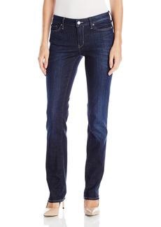 Calvin Klein Jeans Women's Straight Leg Jean Leg Dark Used 27x32