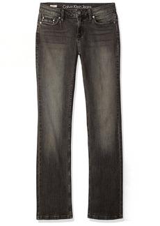Calvin Klein Jeans Women's Straight Leg Jean Wash