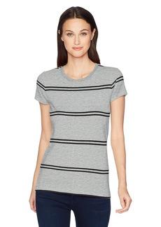 Calvin Klein Jeans Women's Stripe Iconic Logo T-Shirt
