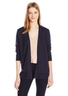 Calvin Klein Jeans Women's Studded Open Front Cardigan