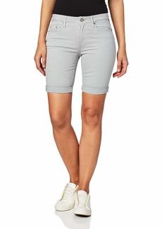 Calvin Klein Jeans Women's Tacked Garment Dyed City Short