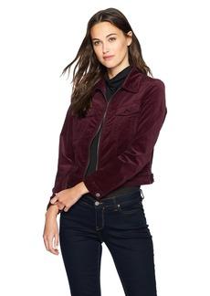 Calvin Klein Jeans Women's Velvet Trucker Jacket