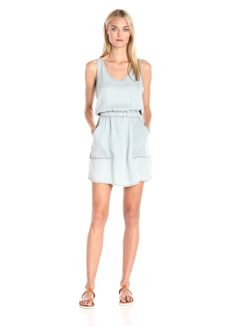Calvin Klein Jeans Women's Washed Tencel Racerback Dress