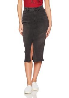 Calvin Klein Jeans Women's High Rise Denim Pencil Skirt