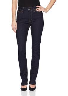 Calvin Klein Jeans Women's Women's High Rise Straight Leg Denim Jean