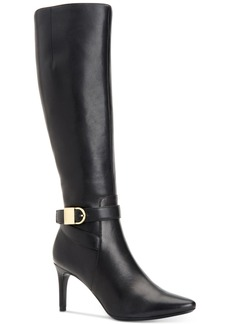 Calvin Klein Jemamine Wide Calf Boots Created for Macy's Women's Shoes