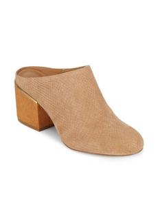 Calvin Klein Judia Leather Clogs