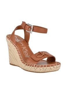 Calvin Klein Karla Espadrille Wedge Sandal (Women)