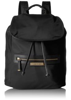 Calvin Klein Key Item Nylon Flap Backpack