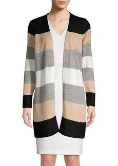 Calvin Klein Knit Colorblock Cardigan
