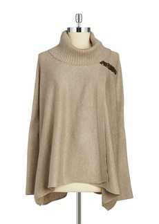 CALVIN KLEIN Knit Poncho Sweater