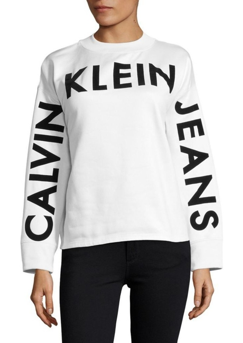 1dd6b6b0fa1c Calvin Klein Calvin Klein Knitted Crewneck Sweater