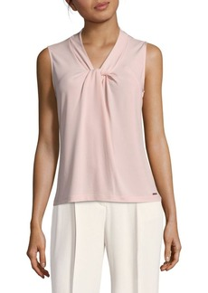 Calvin Klein Knotted Pullover Top
