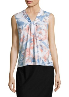 Calvin Klein Knotted Sleeveless Top