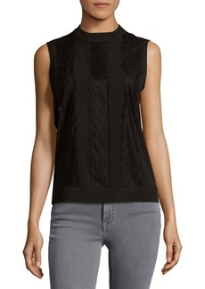 Calvin Klein Lace Detailed Top