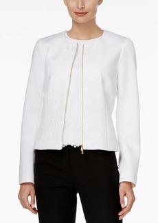 Calvin Klein Lace Scuba Jacket