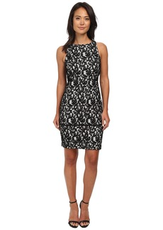 Calvin Klein Lace Sheath Dress