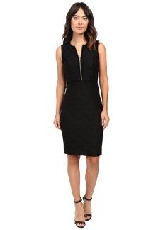 Calvin Klein Lace Sheath Dress w/ Zipper