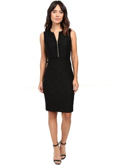 Calvin Klein Lace Sheath Dress w/ Zipper