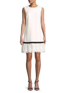 Calvin Klein Lace Sleeveless Dress