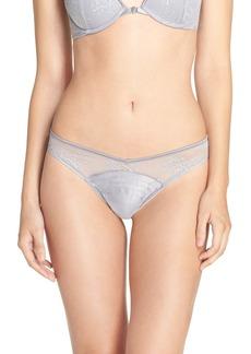 Calvin Klein Lace Waist Thong