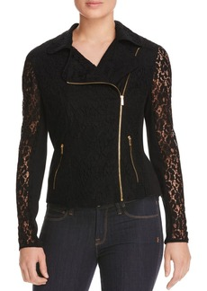 Calvin Klein Lace Zip Jacket - 100% Bloomingdale's Exclusive