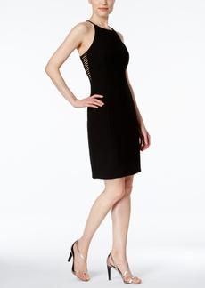 Calvin Klein Lattice-Cutout Sheath Dress