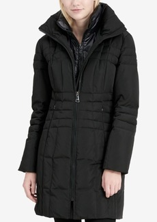 Calvin Klein Layered Down Puffer Coat
