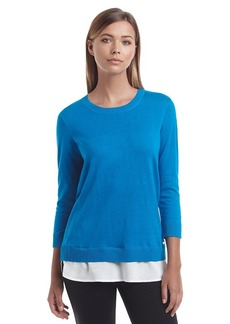 Calvin Klein Layered Look Sweater