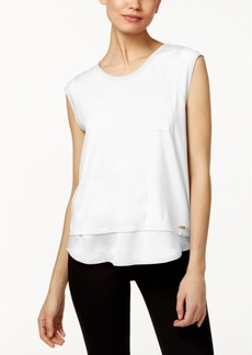 Calvin Klein Layered-Look T-Shirt
