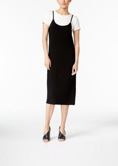 Calvin Klein Layered-Look T-Shirt Dress