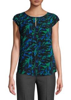 Calvin Klein Leaf-Print Top