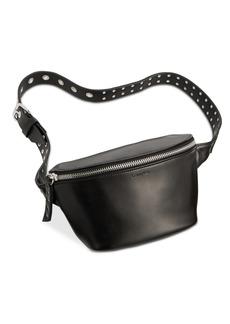 Calvin Klein Leather Grommet Belt Bag