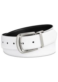 Calvin Klein Leather Reversible Western Belt