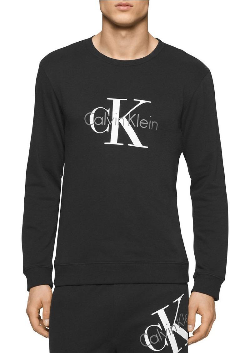 CALVIN KLEIN Lightweight Logo Sweatshirt