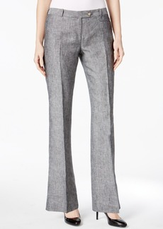 Calvin Klein Linen Flared Trousers