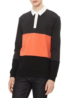 Calvin Klein Liquid Touch Colorblock Polo