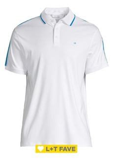 Calvin Klein Liquid Touch Stripe Polo