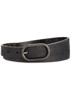 Calvin Klein Lizard-Embossed Reversible Belt