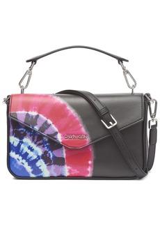 Calvin Klein Lock Tie Dye Shoulder Bag