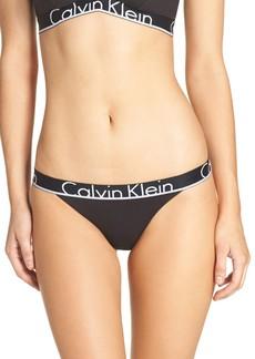 Calvin Klein Logo Cotton Tanga