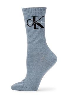 Calvin Klein Logo Crew Socks