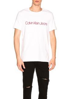Calvin Klein Logo Crew Tee