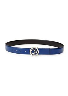 Calvin Klein Logo Leather Belt