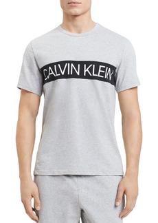Calvin Klein Logo-Print Crewneck Tee