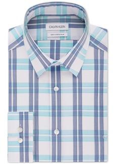 Calvin Klein Logo Slim Fit Stretch Collar Dress Shirt, Online Exclusive