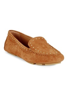 Lolly Studded Suede Loafers