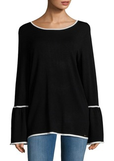 Calvin Klein Long Bell Sleeve Top