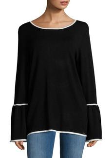 Calvin Klein Long Bell Sleeve Top
